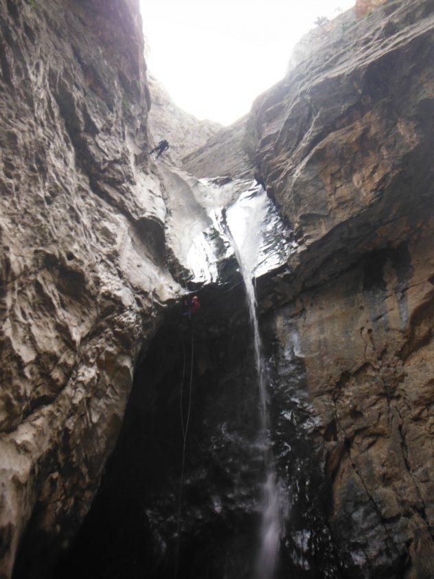 pan dernegi deredop 40 m nden kanyon sporu